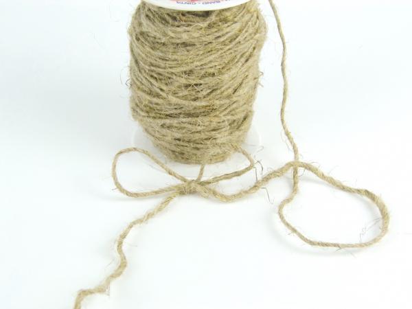 Шнур декоративный — джутовая лента. Цена за метр