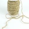 Шнур декоративний — джутова стрічка. Ціна за метр.