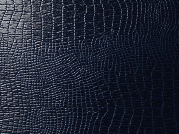 Кожзам на бумажной основе. Цвет 613/175 LUCERTOLA ящерицы темно-синий