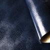 Шкірзам на паперовій основі. Колір 613/175 LUCERTOLA ящірки темно-синій