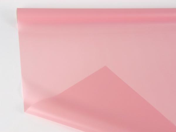 Цветная пленка для цветов. Рулон 70см Х 10м. Цвет светло-розовый
