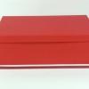 Размер 45х32х14 см. Подарочная коробка. Цвет красный