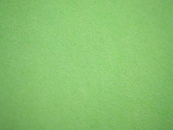 Бархат на бумажной основе цвет салатовый. Флокированная бумага