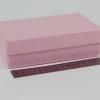 Размер 17х10х5 см. Коробка для подарка. Цвет розовый