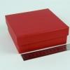 Размер 14х14х4 см. Коробка со съемной крышкой. Цвет красный
