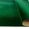Бархат на бумажной основе цвет темно-зеленый. Флокированная бумага
