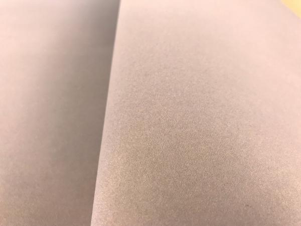 Бархат на бумажной основе цвет пудрово-кофейный. Флокированная бумага