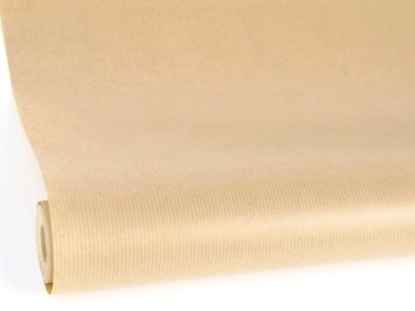 Рулон 70 см на 15 м. Однотонная крафт бумага натурального цвета крафт