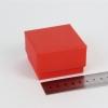 Размер 6х6х4 см Подарочная коробка со съемной крышкой. Цвет красный