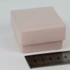 Размер 5х5х3 см Подарочная коробка со съемной крышкой. Цвет пудровый