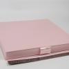 Размер 35х35х3,5 см Коробка на лентах. Цвет: розовый