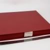 Размер 35х35х3,5 см Коробка на лентах. Цвет: бордовый