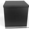 Размер 40х40х40 см. Коробка со съемной крышкой. Цвет: черный
