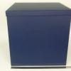 Размер 40х40х40 см. Коробка со съемной крышкой. Цвет: темно-синий