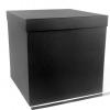 Размер 50х50х50 см. Коробка со съемной крышкой. Цвет: черный