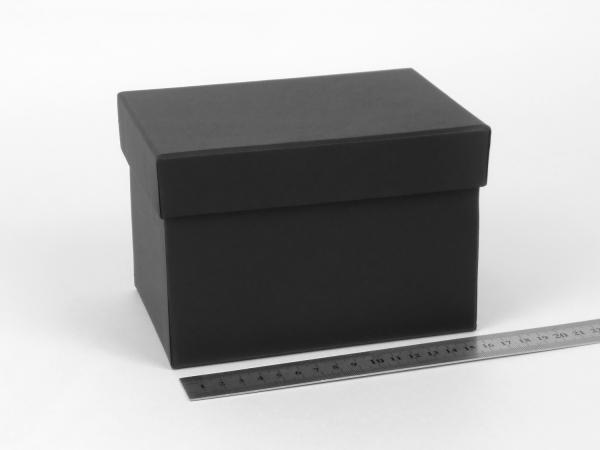 Размер 16х11х11 см. Коробка со съемной крышкой. Цвет: черный