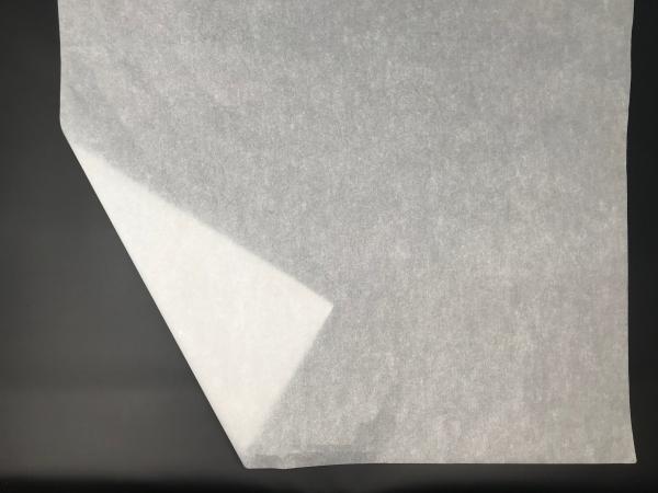 Метровая тишью плотность 20/22 г/м2. Размер 100х75см. Прозрачная белая бумага. Код 84FT. Цена за 100 листов