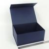 Размер 28х19х12 см. Коробка на магнитах. Цвет: темно-синий