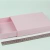 Размер 19х14х3 см Выдвижная коробка. Цвет розовый