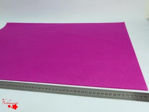 100 листов бумаги тишью цвета фуксия 50х76 см код 065