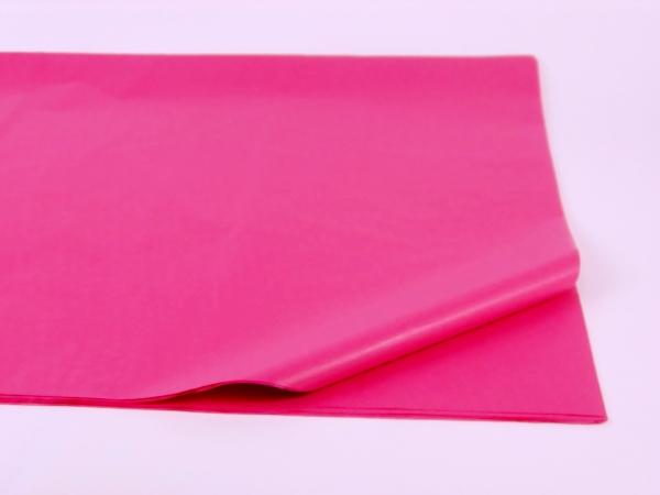 100 листов бумаги тишью пинкового цвета 50х75 см код 233