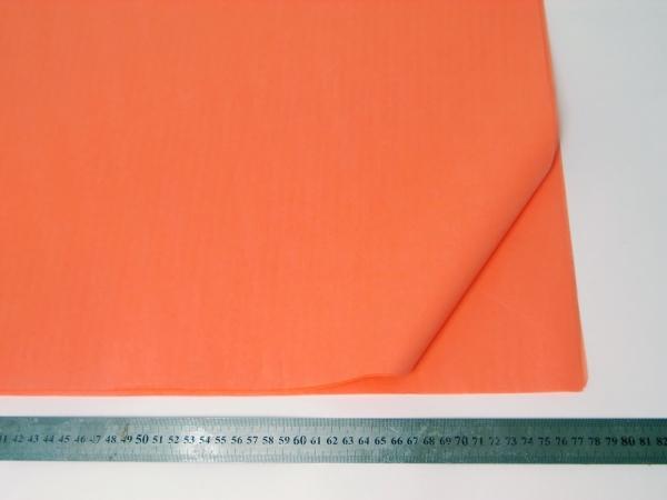 100 листов бумаги тишью кораллового цвета 50х76 см код Coral