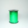 Лента металлизированная для упаковки подарков и цветов 0,5 см. 125 м. Цвет: зеленый