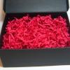 Стружка для подарочных коробок. Объем в распушенном виде 1,5 литра. Цвет: малиновый 572