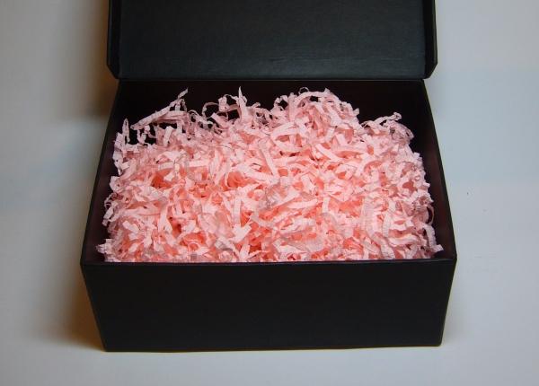 Наполнитель для подарочных коробок. Объем в распушенном виде 1,5 литра. Цвет: персиковый № 548