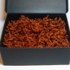 Наполнитель для подарочных коробок. Объем в распушенном виде 1,5 литра. Цвет: коричневый №  568