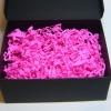 Наповнювач у подарункові коробки. Об `єм у розпушеному вигляді 1,5 літри. Колір: темно-рожевий № 3