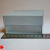 Коробка для подарка. Цвет серебро. 10*10*5 см