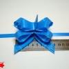 Банти для подарункової упаковки «метелик».  Колір синій. 25 шт.