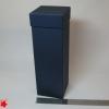 Подарочная упаковка для вина. Цвет темно-синий. 9*9*33 см.