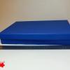 Подарочная коробка. Цвет светло-синий. Плотный картон. Размер 30*20*5 см