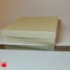 Розмір 20х20х4 см. Коробка зі з`ємною кришкою. Колір бежевий