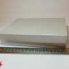 Коробка для подарочной упаковки. Цвет серебристый. Размер 20*20*4 см.