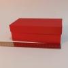 Розмір 17х8х6 см. Коробка зі з`ємною кришкою. Колір червоний
