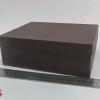Розмір 20х17х9 см. Коробка зі з`ємною кришкою. Колір коричневий