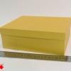 Розмір 20х17х9 см. Коробка зі з`ємною кришкою. Колір золото