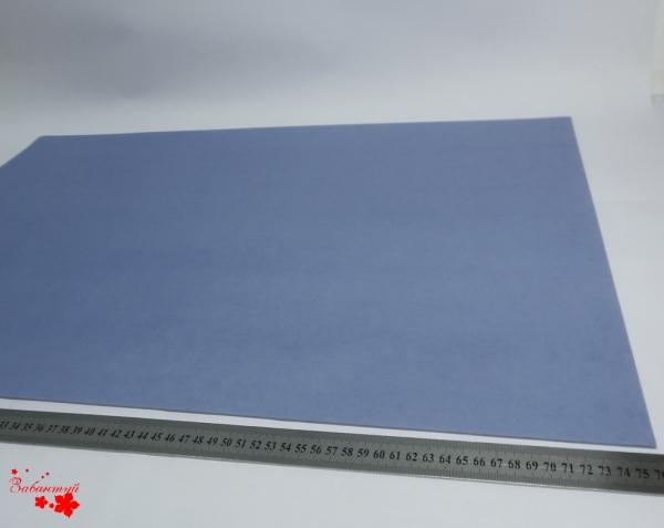 Бумага тишью 50*76 см. Цвет: джинсовый (код 021).