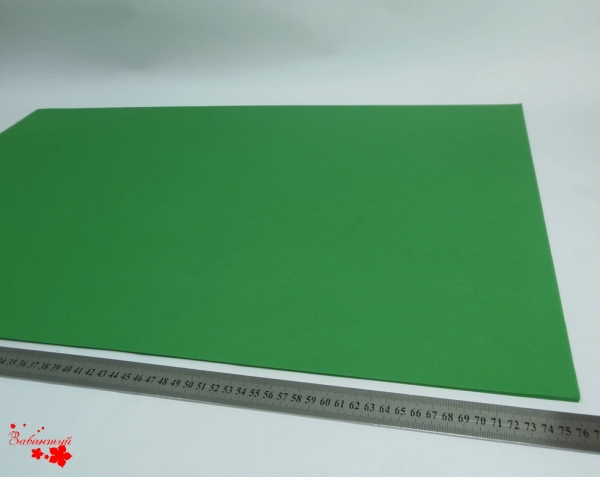 Папиросная бумага тишью 50*76 см. Цвет: зеленый (код 038).
