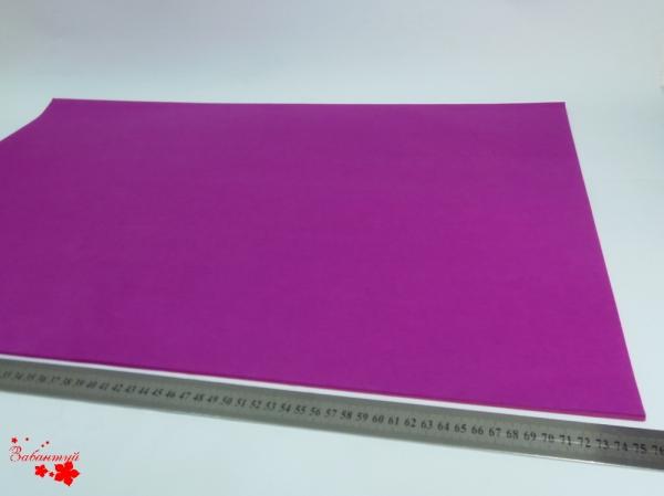 Папиросная бумага тишью 50*76 см. Цвет: фиолетовый (код 066).