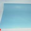 Однотонная подарочная бумага голубого цвета. 70 см на 10 метров