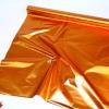 Рулон 1х20 метров. Полисилк оранжевый односторонний