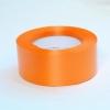 Лента полипропиленовая для упаковки подарков и цветов 5см на 50м. Цвет: оранжевый