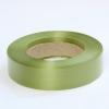 Стрічка поліпропіленова  для упаковки подарунків і квітів  3 см на 50 м. Колір оливковий