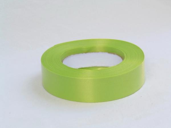 Лента полипропиленовая для упаковки подарков и цветов 3см на 50м. Цвет: светло-зеленый