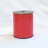 Лента для упаковки подарков и цветов пластиковая 0,5см. 300м. Цвет: красный