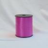 Лента для упаковки подарков и цветов пластиковая 0,5 см на 300м. Цвет: розовый
